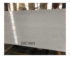 China Carrara Marble Like Quartz Slab