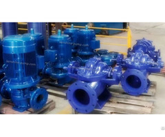 S Sh Single Stage Double Suction Centrifugal Pump