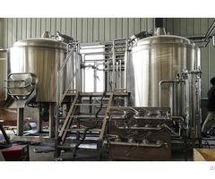 Three Vessel Brew House 1500l