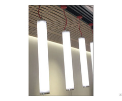 Ce Rohs Approved Vertical Suspending Round Linear Light With No Dot