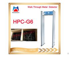 Door Frame Walk Through Gate Archway Metal Detector Security