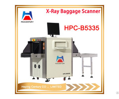 High Resolution 32mm Penetration 5335 Dual Energy X Ray Baggage Scanner