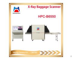 X Ray Baggage Scanner Used Equipment In Airport Hotel Jail Court Hpc B6550
