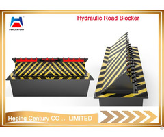 Remote Control Factory Sale Hydraulic Vehicle Spike Barrier Steel Road Blocker