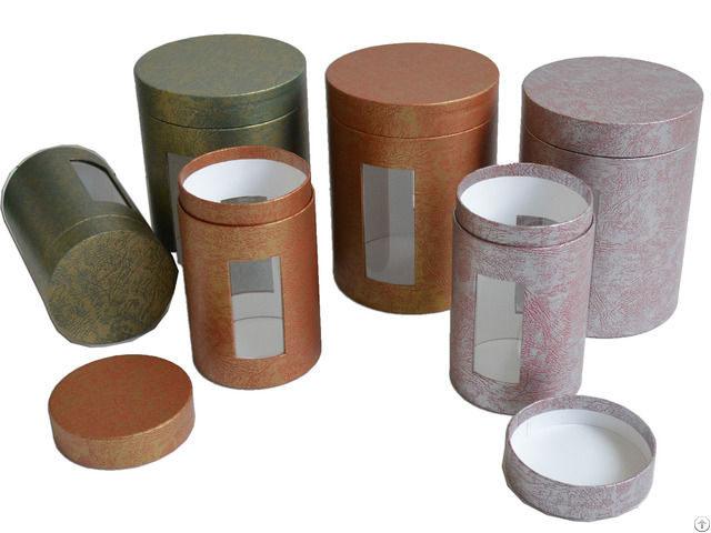Paper Tubes With Embedded Window
