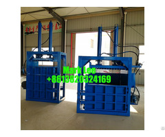 Popular Design Vertical Scrap Pressing Baler Machine For Sale