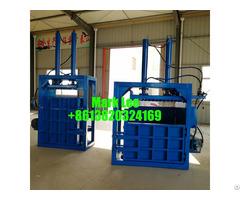 Popular Design Vertical Scrap Pressing Baler Machine For Sale