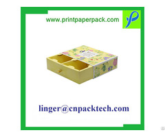 Custom Luxury Cardboard Paper Gift Packaging Box With Logo Print Hot Stamping