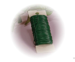 Green Coated Annealed Low Carbon Steel Wire