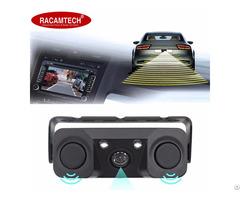 Video Car Parking Sensor Radar With Rear View Camera