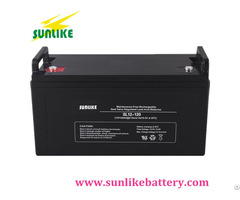 Deep Cycle Lead Acid Solar 12v120ah Ups Battery For Power Storage