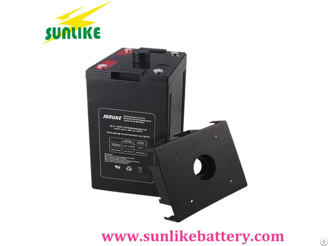Rechargeable Deep Cycle Lead Acid Battery 2v450ah For Telecom Use