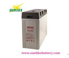 Lead Acid Deep Cycle Solar Battery 2v1300ah For Home System