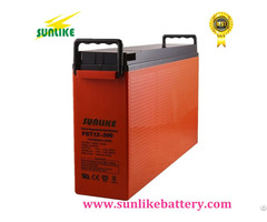 12v200ah Front Access Terminal Ups Telecom Battery For Power Supply