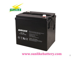Rechargeable Lead Acid Battery 6v100ah For Solar Street Light