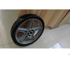 Plastic Pu Tyre Wheel