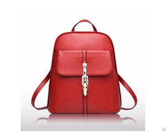New Arrival Trendyl Design Pu Leather Backpack