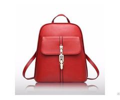 New Arrival Trendyl Design Pu Leather Backpack