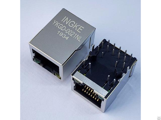 Ykgd 0021nl = A70 112 331n126 Gigabit Poe Through Hole Rj45 Lan Transformer
