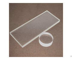 Heat Resistant High Purity Quartz Plate Glass