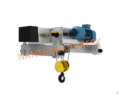 Low Headroom Double Girder Electric Wire Rope Hoist