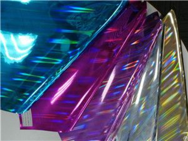 Bh4273 New Arrival Laser Film Shining Synthetic Leather 1 0mm 54