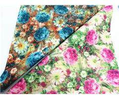 "Bh190912 41 Shining Glitter Flower Pattern Leather 1 0mm 54"""