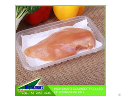 Frozen Food Products Water Absorbing Pads Absorbent Meat Soaker