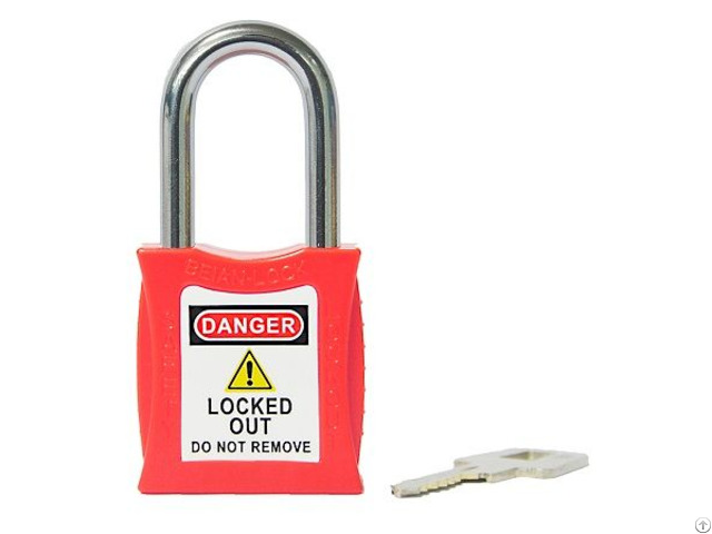 Steel Shackle Loto Safety Lockout Padlocks For Industry 201series