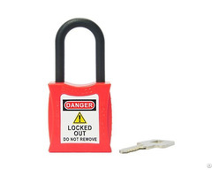 Insulative Nylon Shackle Lockout Safety Padlock 202 Series