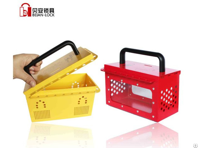 Portable Group Lockout Box For Industry X04