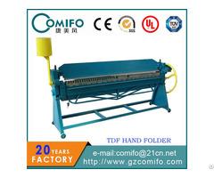 Hand Folding Machine