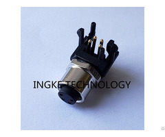 Ingke Ykm8 Ptb0204a Direct Substitute Te 3 2172068 2 4 P Female Circular Connector