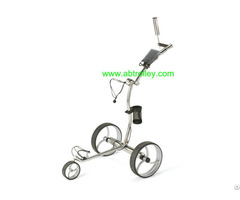009e Electrical Stainless Steel Golf Trolley