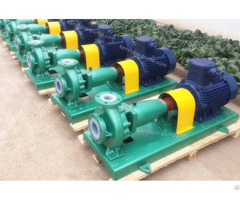 Ihf Corrosion Resistant Fluorine Plastic Chemical Pump