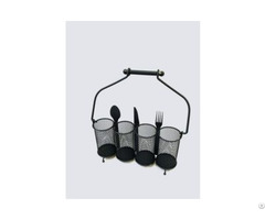 Mesh Caddy Organizer For Utensils