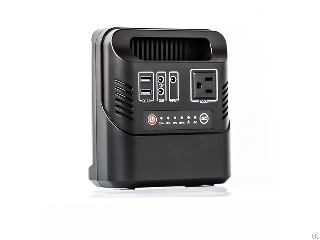 133wh 36000mah Portable Power Station Source Solar Generator With Ac Dc Usb Outputs