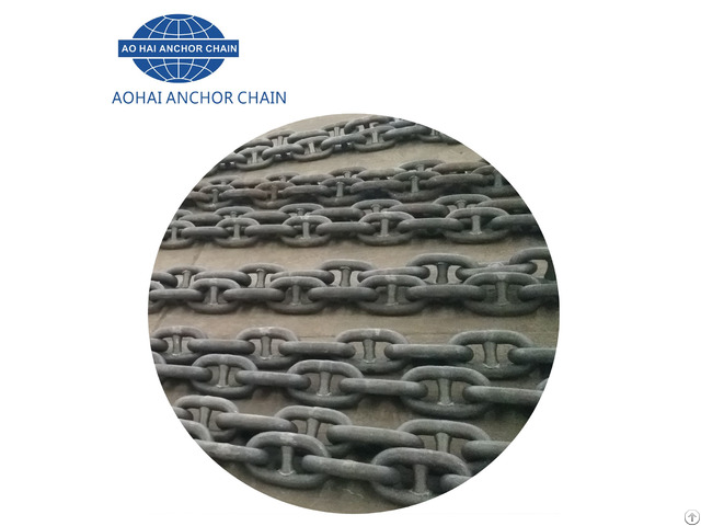 Studless Link Welding Marine Anchor Chain For Ship