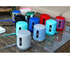 Stg129 Wireless Outdoor Portable Mini Speakers With Tf Card