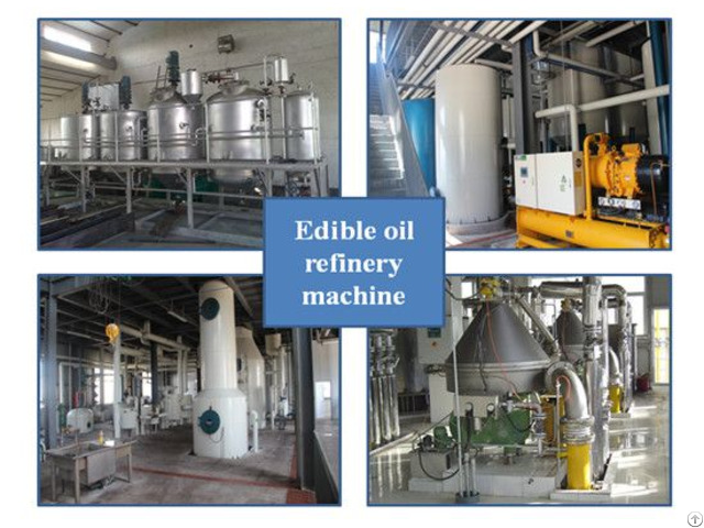 Cooking Vegatble Edible Oil Refinery Plant