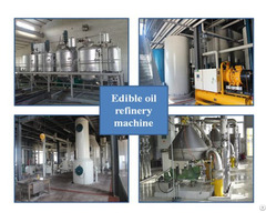 Cooking Vegatble Edible Oil Refinery Plant