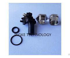 Te 3 2172079 2 M12 4 Female Sockets Circular Connector