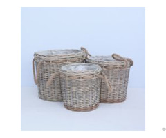 Wall Hanging Wicker Baskets Home Decoration Supplier In China
