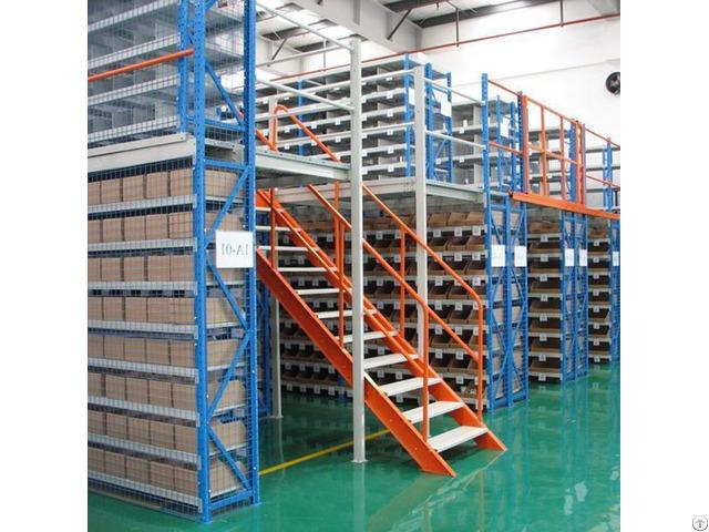 Warehouse Mezzanine Floors Racking System