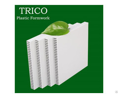 15mm 18mm Plastic Building Formwork For Concrete
