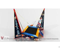Indoor And Outdoor Bungee Jumping Trampoline
