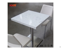 Dining Room Funiture Solid Surface Table With 4seaters