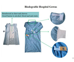 Biodegradable Disposable Hospital Gowns