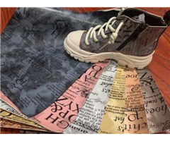 """Bh5032 Printed Alphabet Synthetic Leather With Cotton Backing 0 9mm 54"""""""
