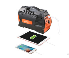 444wh Portable120 000mah Power Station Outdoors Solar Generator Ac Dc Usb Outputs